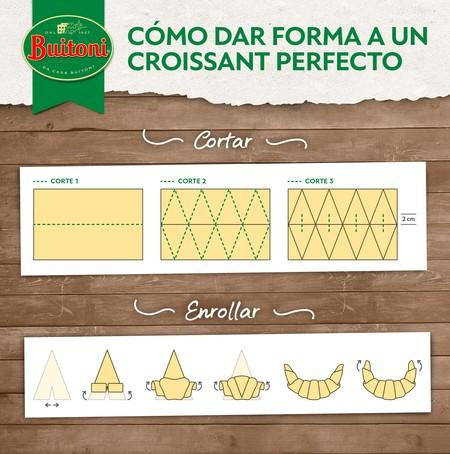Infografia Buitoni Croissant Perfecto