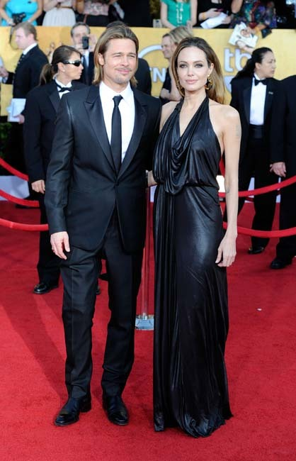Brangelina Screen Actors Guild Awards
