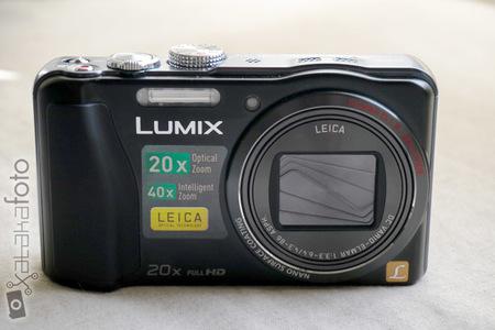 Lumix TZ30 detalle Leica