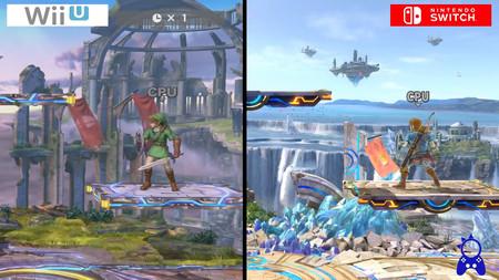 El salto visual de Super Smash Bros. Ultimate  frente a la versión de Wii U. O el culto al detalle de Sakurai