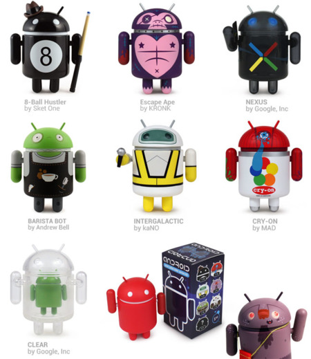 Figuras Android Serie 3