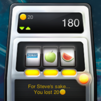 Fruitz: Un widget tragaperras