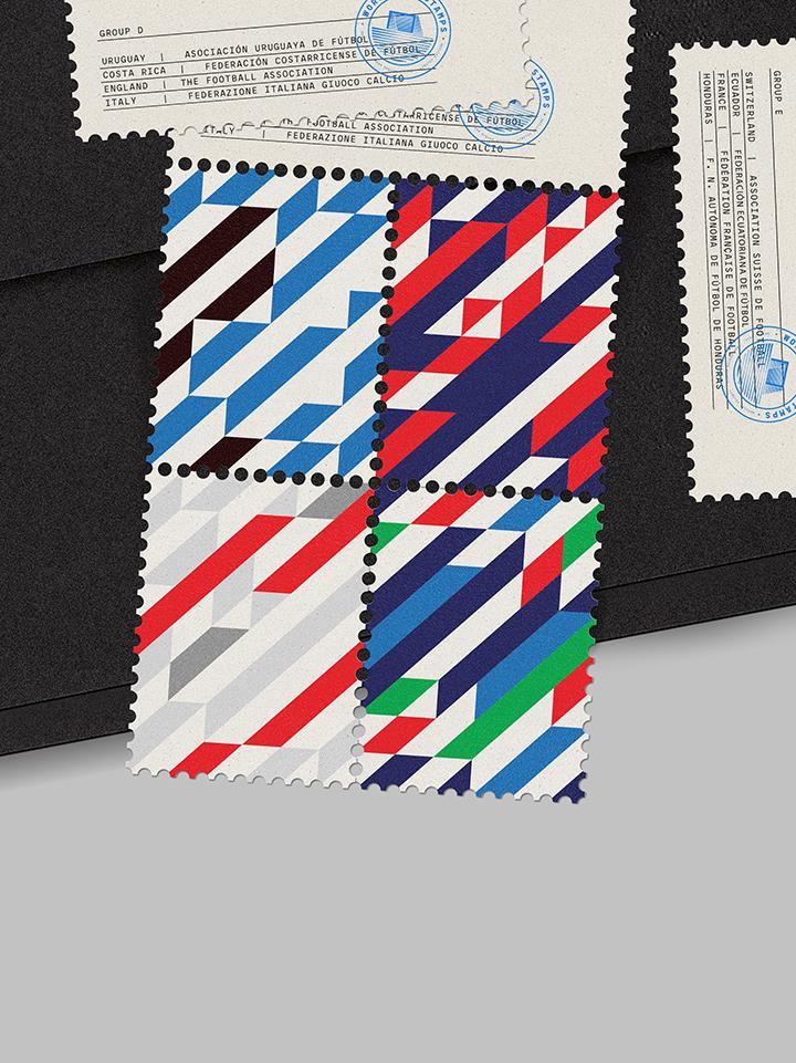 Foto de World Cup Stamps 2014 (35/45)