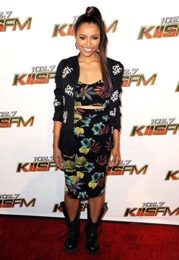 Kat Graham Kiss FM