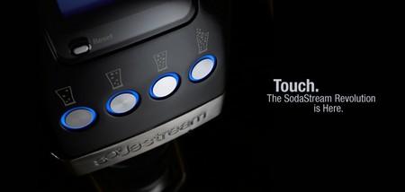 SodaStream botones panel frontal