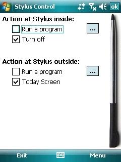 Stylus Control, qué hacer al sacar el lápiz