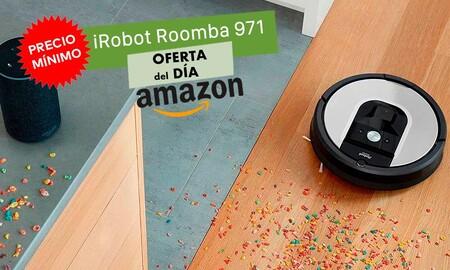 Este robot aspirador Roomba 971 nunca había estado tan barato: hoy en Amazon lo tienes por sólo 379 euros