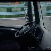 Ya hay un camión autónomo conduciendo sólo por las autopistas de China, y así se ve en vídeo desde dentro
