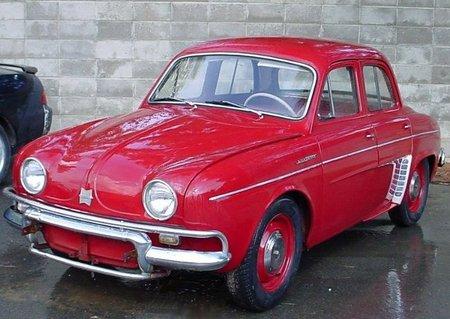 Renault Dauphine eléctrico. Los pioneros de cada casa