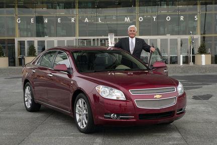 Chevrolet Malibu: coche del año en Estados Unidos