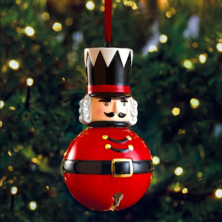 Colgante Para El Arbol Cascanueces Rojo Navidad El Corte Ingles