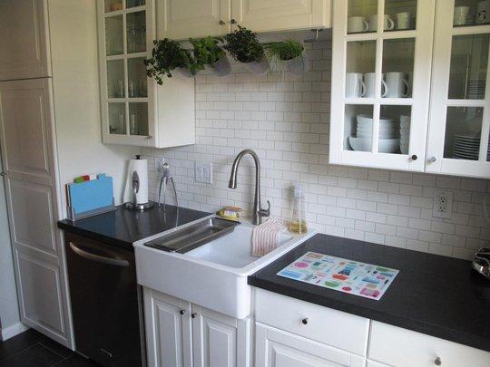 Foto de una cocina de 7 metros cuadrados 1 4 for Cocina 13 metros cuadrados