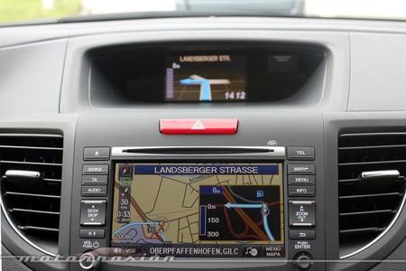 Honda CR-V, navegador GPS