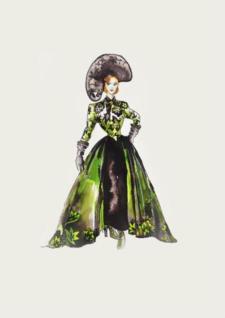 Cinderella Costume Signage Tremaine 02