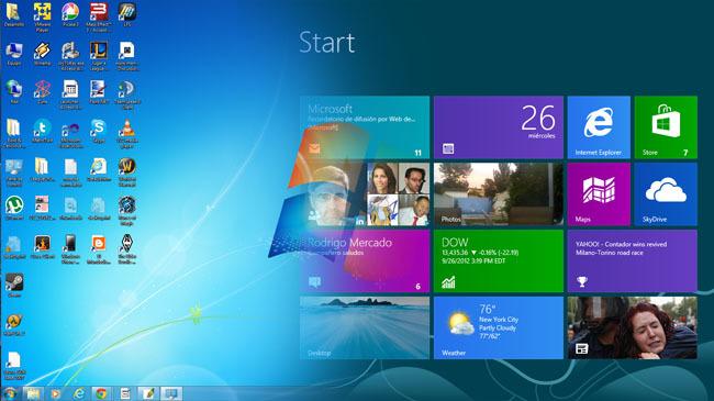 De Windows7 a Windows8