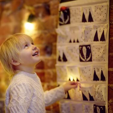 19 calendarios de adviento bonitos y originales para esperar con tus hijos la llegada de la Navidad