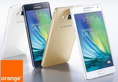 Precios Samsung Galaxy A5 con Orange y comparativa con Yoigo y Amena