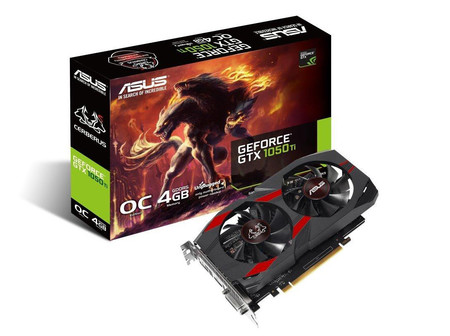 Asus Cerberus Geforce Gtx 1050 Ti Oc Edition