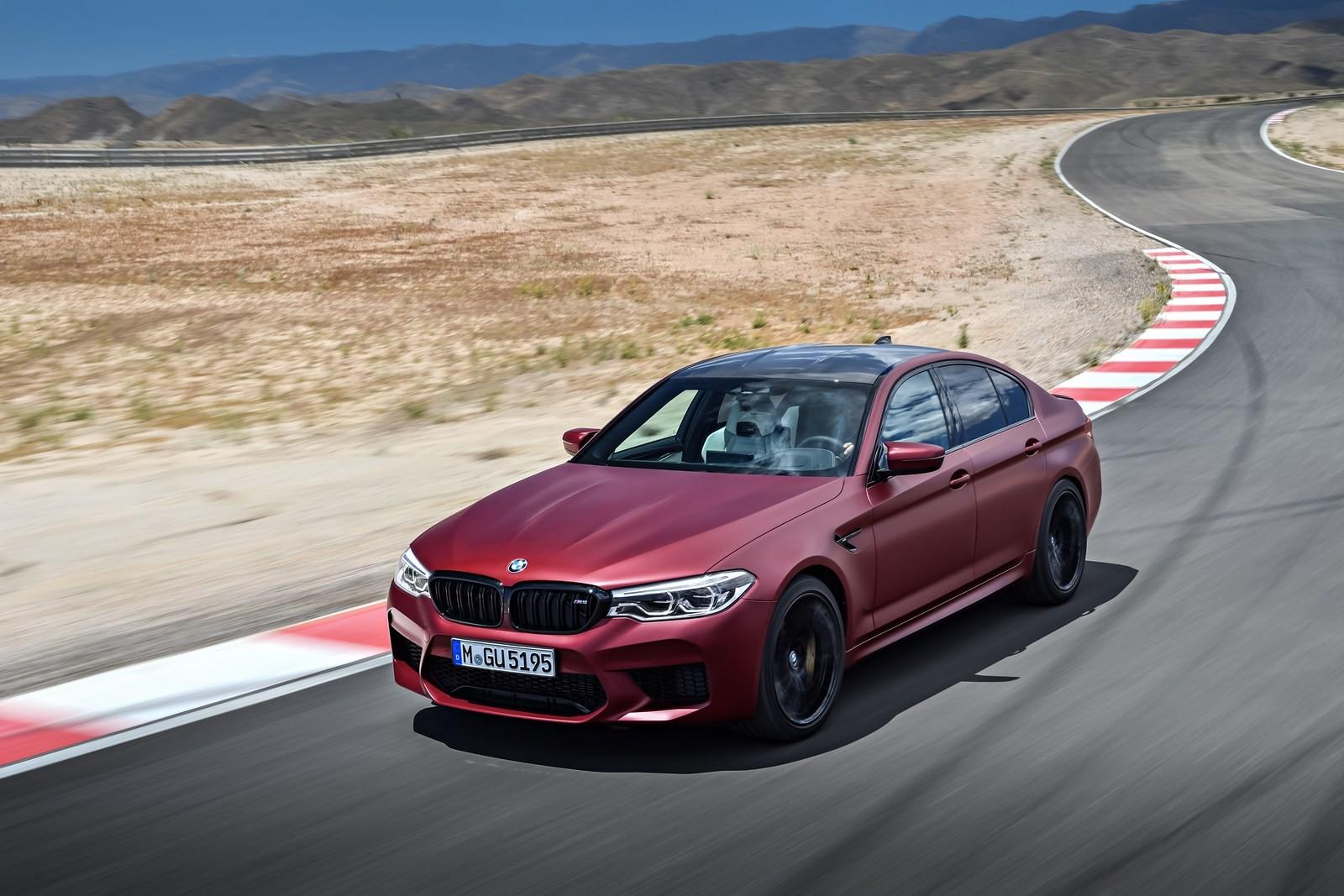 Foto de BMW M5 2018 (32/57)