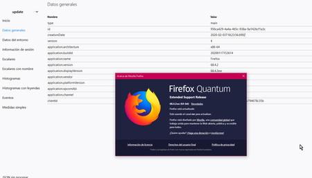 Firefox ya nos permite consultar qué datos de telemetría recopila en nuestro equipo: así puedes borrarlos