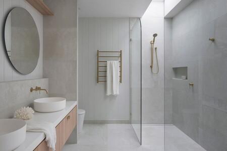 baños grises