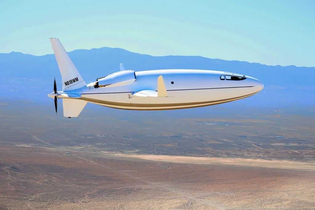 Así es el Celera 500L, un curioso avión con forma de bala que busca ser más aerodinámico y consumir menos combustible