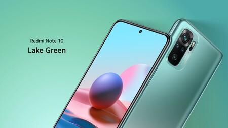 Xiaomi Redmi Note 10 Oficial Color Verde Lago