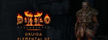 Guía de Druida Elemental de Viento en Diablo 2 Resurrected: lo que el viento se llevó