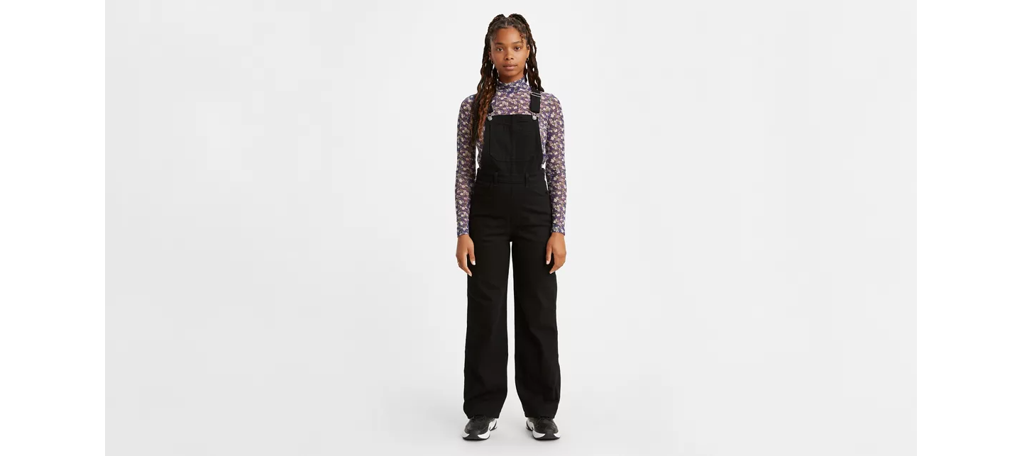 Peto High-loose cozy overall