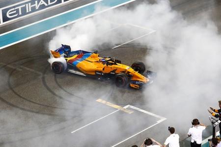 Fernando Alonso Abu Dabi Trompos
