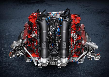 Ferrari 488 GT Modificata 2020 motor