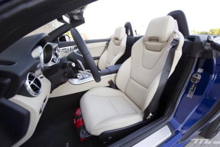 Mercedes-AMG SLC 43, prueba