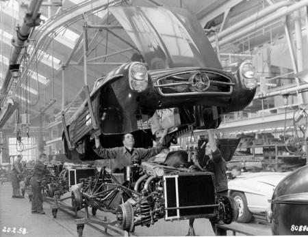 Mercedes-Benz 300 SL Roadster fábrica