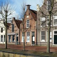 Una casa holandesa de 1633 con un baño dentro de un armario