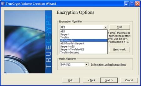 TrueCrypt, software para el cifrado de datos