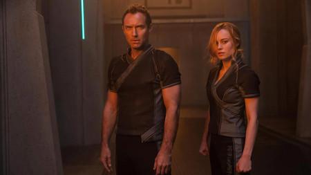 Captain Marvel Movie 2019 Brie Larson Jude Law