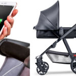 Este cochecito no sólo carga bebés, sino también a nuestro smartphone
