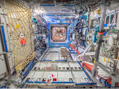 Google Streetview te transporta hasta la Estación Espacial Internacional