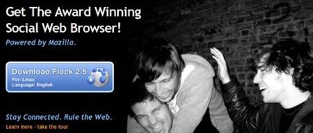 Flock 2.5: integración total de Twitter y Facebook en el navegador