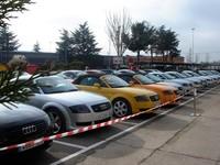 Planes para los días 17 a 19 de octubre, como ver un centenar de Audi TT concentrados en Madrid