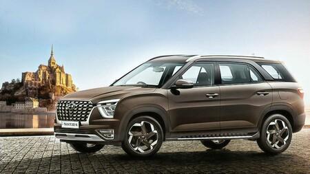 El Hyundai Alcazar está listo: un Creta para siete pasajeros, que podría llegar a México