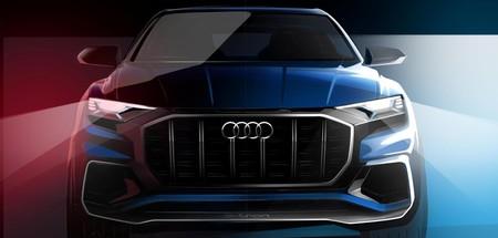 El Audi Q8 E-tron concept es un futuro gran SUV de estilo coupé, y estará en Detroit