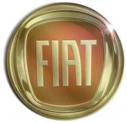 Logo Fiat Golden