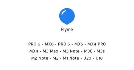 Flyme OS 6 dispositivos compatibles