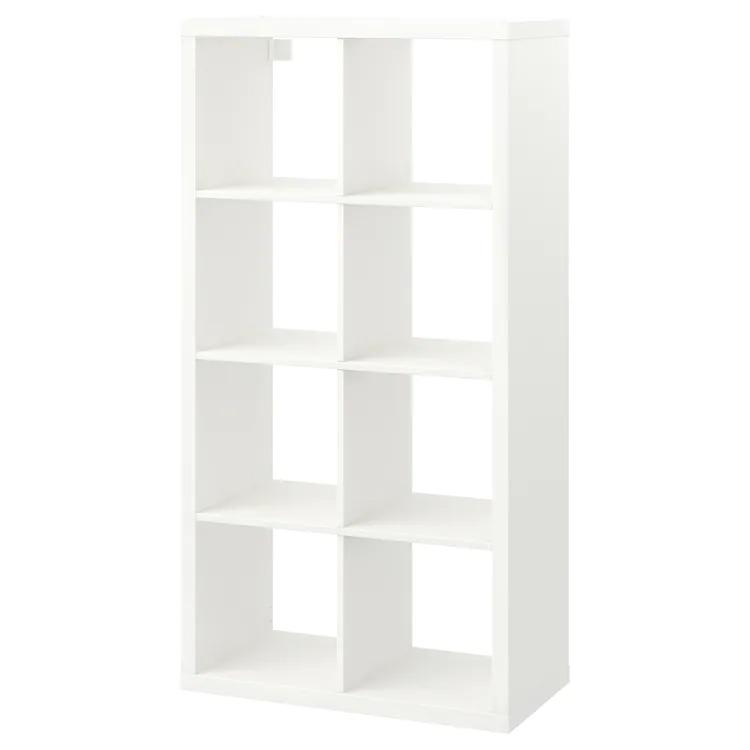 KALLAX Estantería, blanco, 77x147 cm