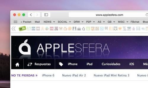 Safari 8 en OS X Yosemite: lo bueno, lo malo y por qué he terminado volviendo a Chrome