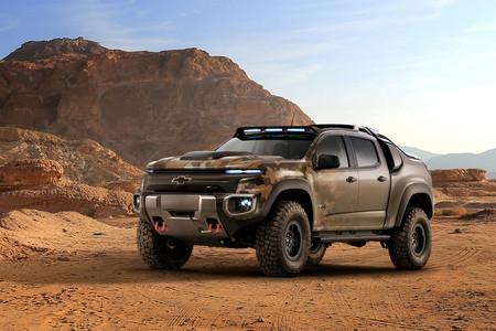 Chevrolet Colorado ZH2, parece salida de Mad Max, pero es una realidad