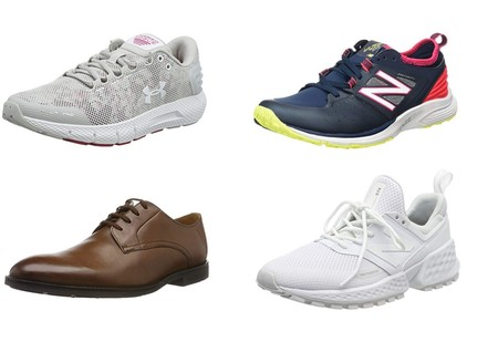 Chollos en tallas sueltas de zapatos y zapatillas Clarks, Under Armour o New Balance en Amazon