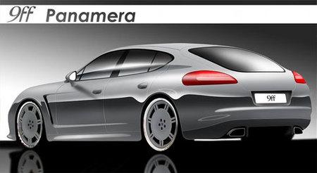 9ff ya prepara su versión del Porsche Panamera