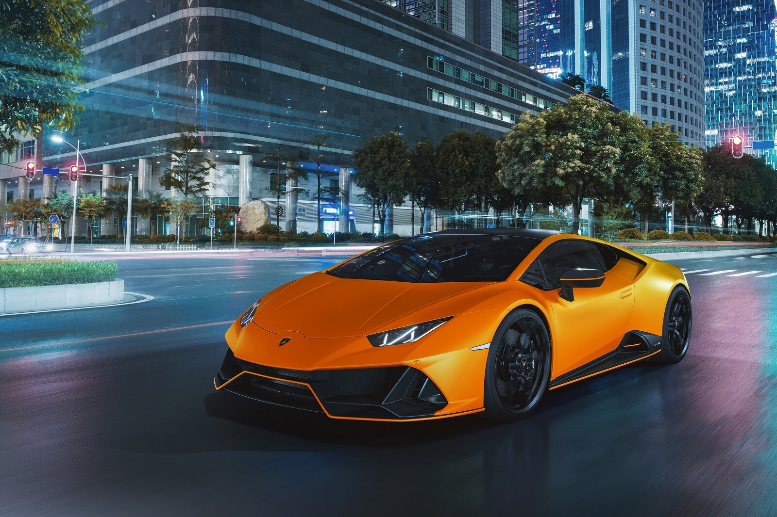 Foto de Lamborghini Huracán EVO Fluo Capsule (17/26)